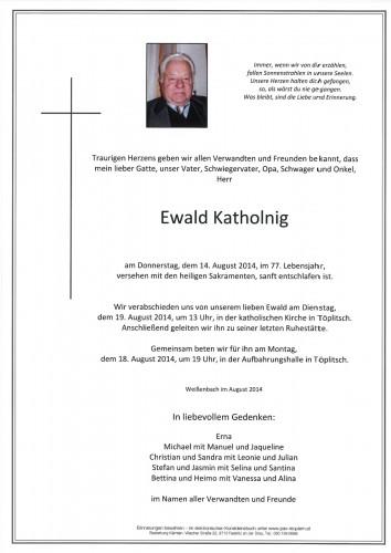 Ewald Katholnig