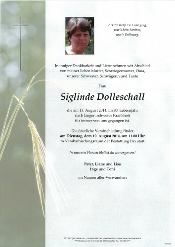 Siglinde Dolleschall