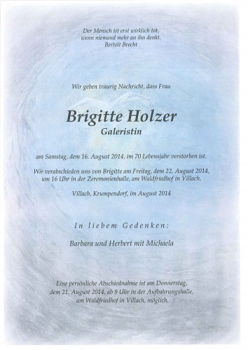 Brigitte Holzer