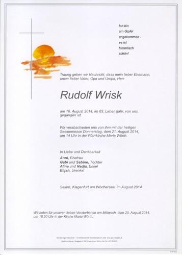 Rudolf Wrisk