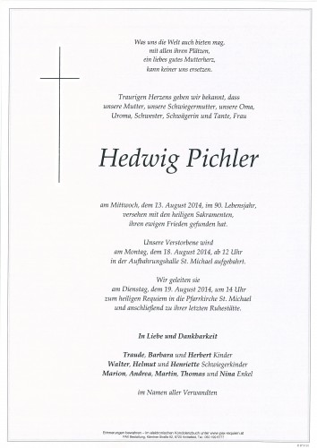 Hedwig Pichler