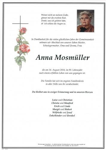 Anna Mosmüller