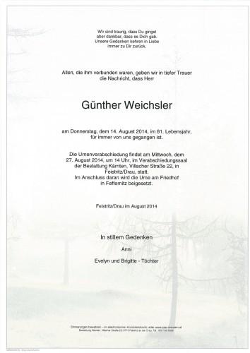 Günther Weichsler