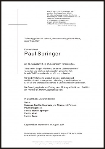 Paul Hans Springer