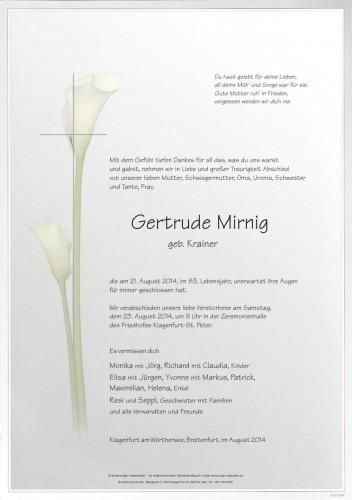 Gertrude Mirnig