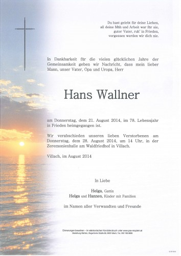Hans Wallner