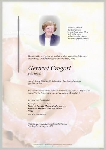 Gertrud Gregori