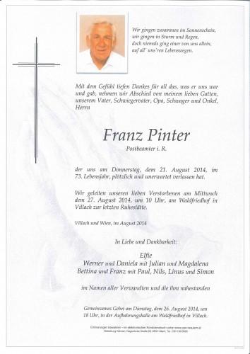 Franz Pinter