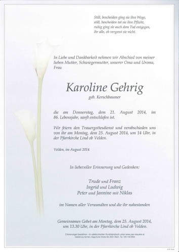 Karoline Gehrig