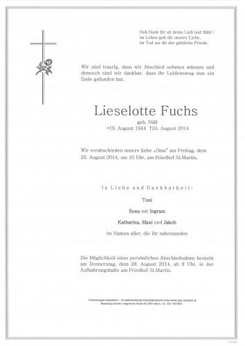Lieselotte Fuchs