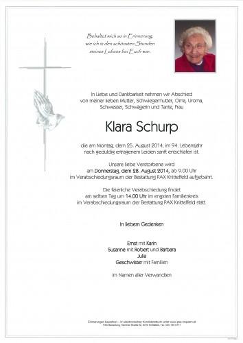 Klara Schurp