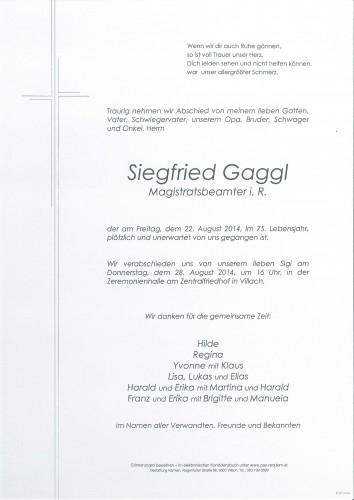 Siegfried Gaggl