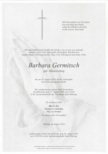 Barbara Germitsch