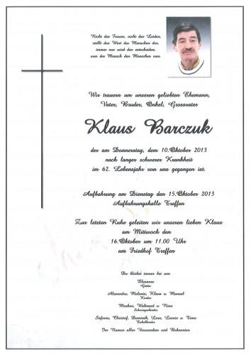 Klaus Barczuk