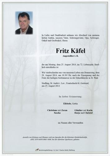 Fritz Paul Käfel