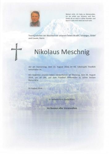 Nikolaus Meschnig