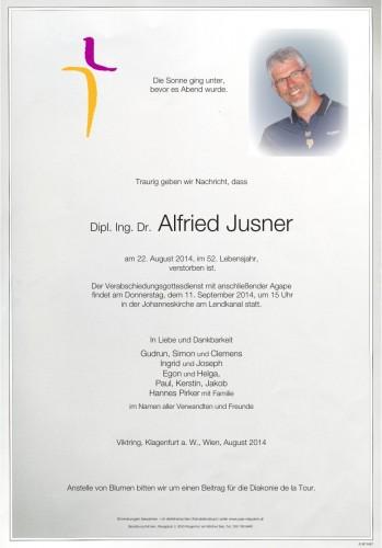 Dipl.Ing. Dr. Alfried Jusner