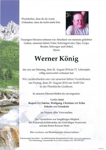 Werner König