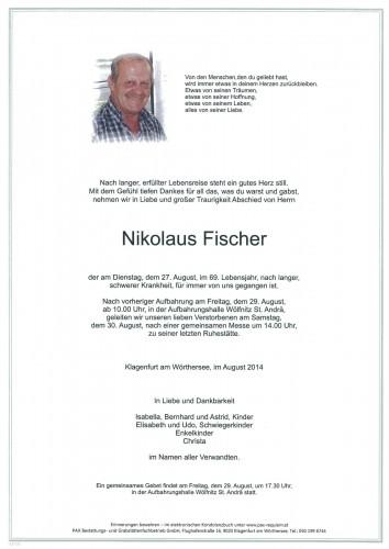 Nikolaus Fischer