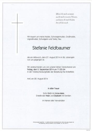 Stefanie Feldbaumer