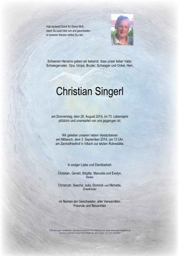 Christian Singerl