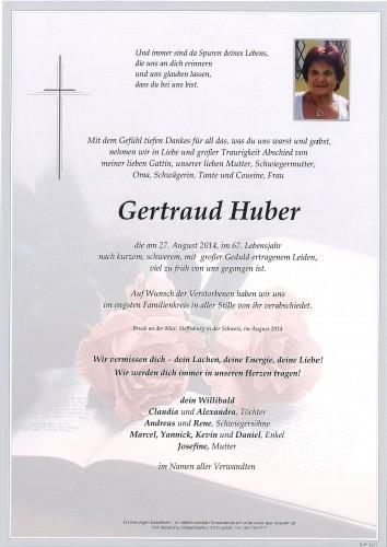 Gertraud Huber
