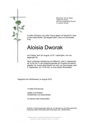 Aloisia Dworak