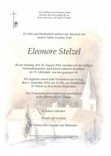 Eleonore Stelzel