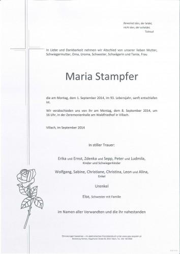Maria Stampfer