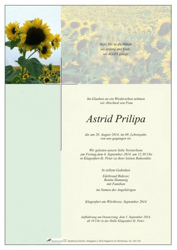 Astrid Prilipa