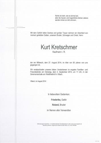 Kurt Kretschmer