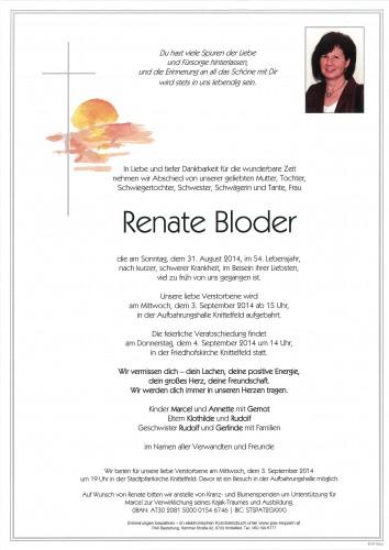 Renate Bloder