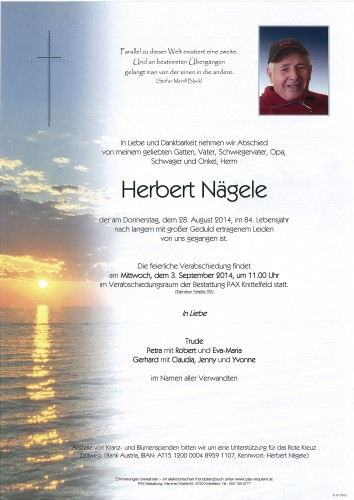Herbert Nägele