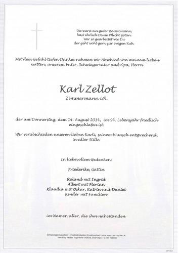 Karl Zellot