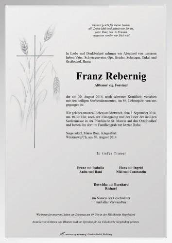 Franz Rebernig
