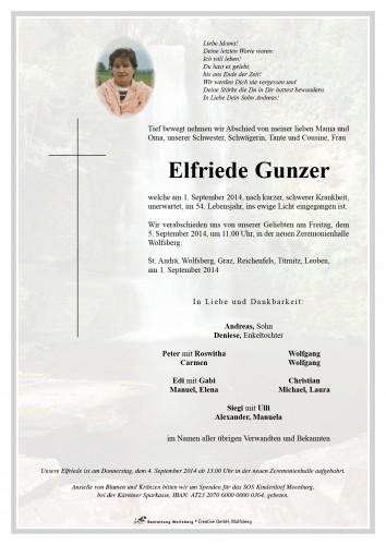 Elfriede Gunzer