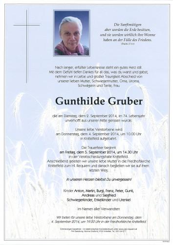 Gunthilde Gruber