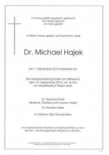 Dr. Michael Hajek