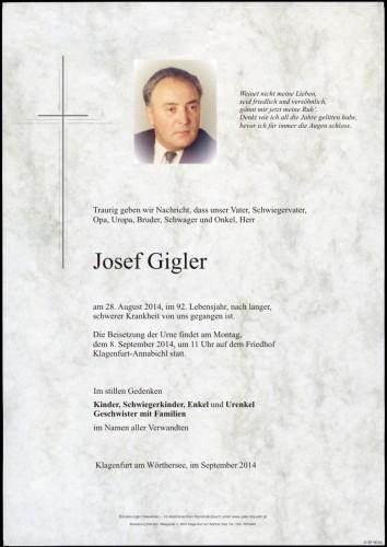 Josef Gigler