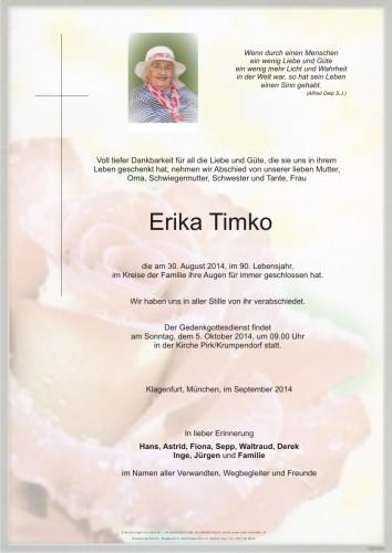 Erika Timko
