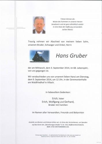 Hans Gruber