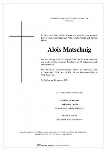 Alois Matschnig