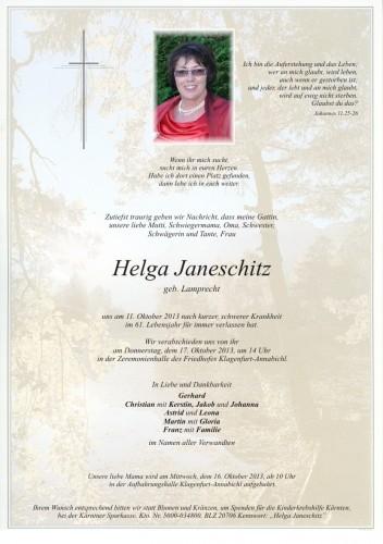 Helga Janeschitz