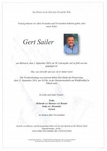Gert Sailer