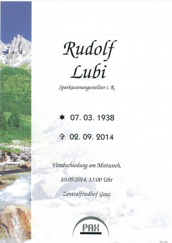 Lubi Rudolf