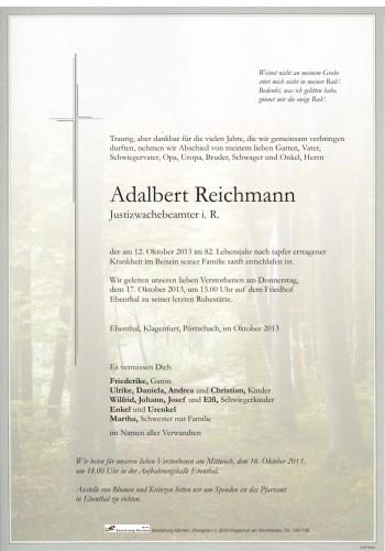 Adalbert Reichmann