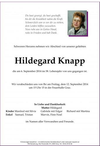 Hildegard Knapp