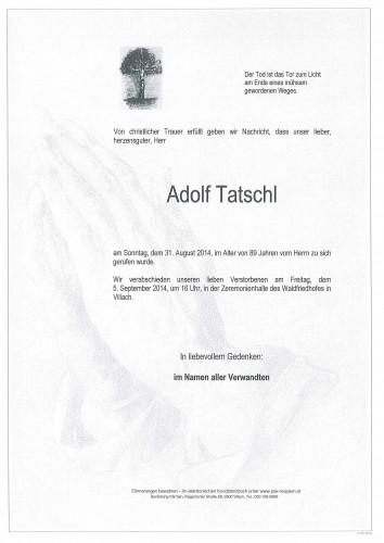 Adolf Tatschl
