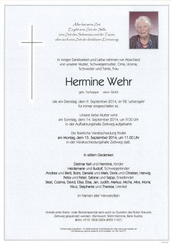 Hermine Wehr
