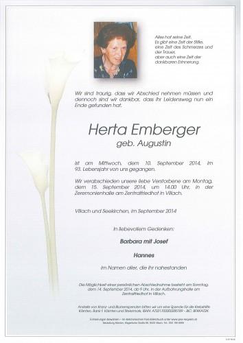 Herta Emberger